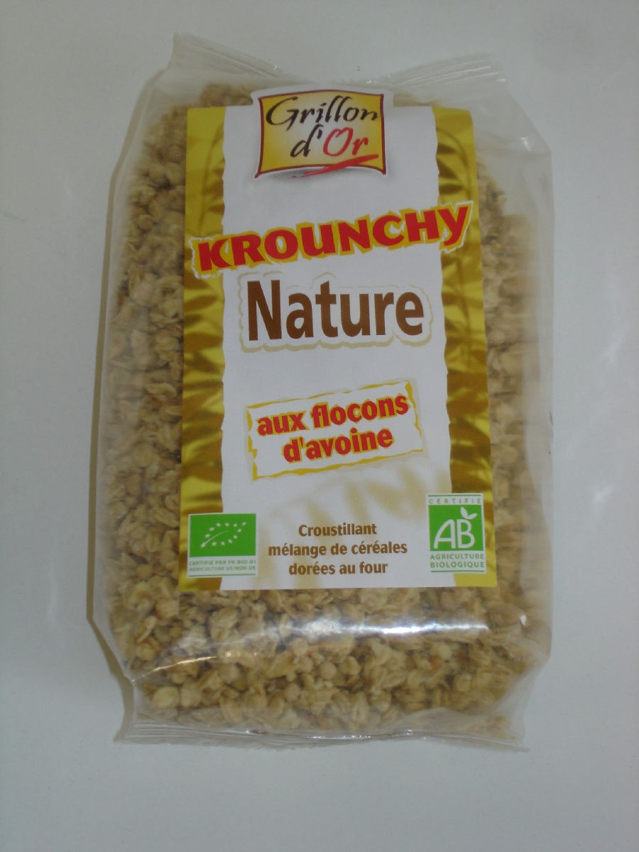 Krounchy avoine nature 500g
